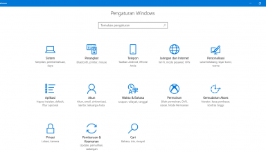bahasa indonesia windows 10